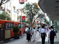 八戸市中心街の様子